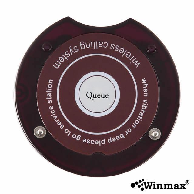 ตัวลูกเครื่องเรียกคิว Wireless Queue Calling System สีดำ