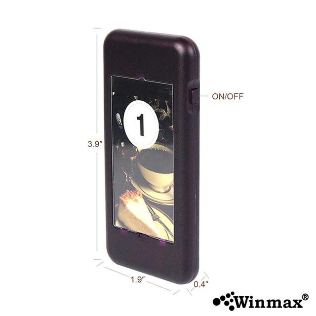 Winmax-P704 เพจเรียกคิวร้านอาหารไร้สาย 20 คิว