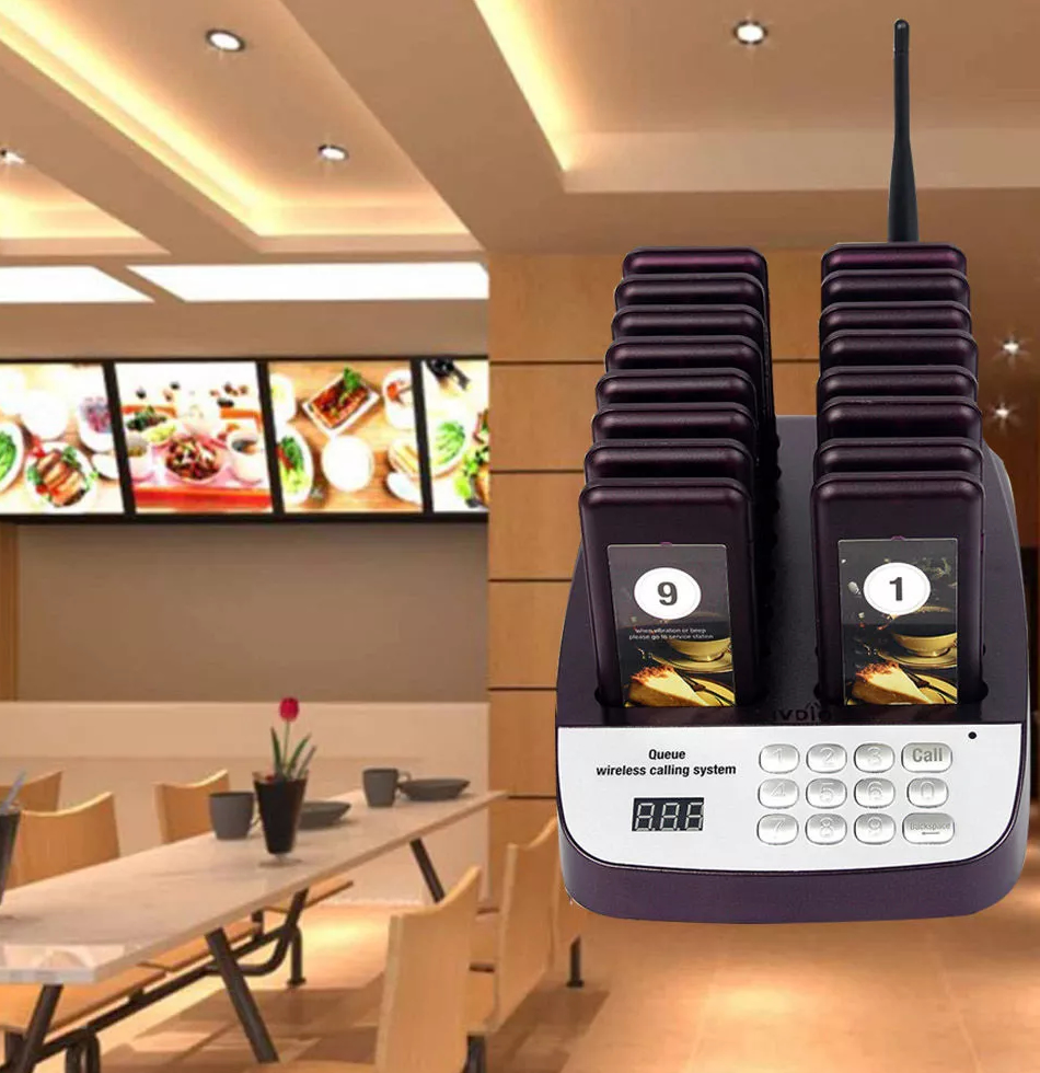 Wireless Queuing System Winmax-P703