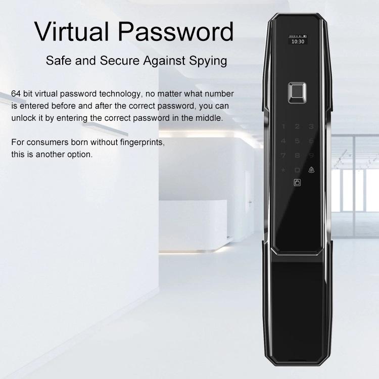 ประตูดิจิตอล ควบคุมผ่านสมาร์ทโฟนได้ ดีไซน์สุด Smart 5in1 Winmax D805