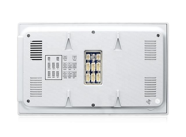 วีดีโอดอร์โฟน หน้าจอ LCD ปุ่มกดแบบสัมผัส ขนาด 7 นิ้ว พร้อมสแกนลายนิ้วมือ รุ่น Winmax AHDS-901